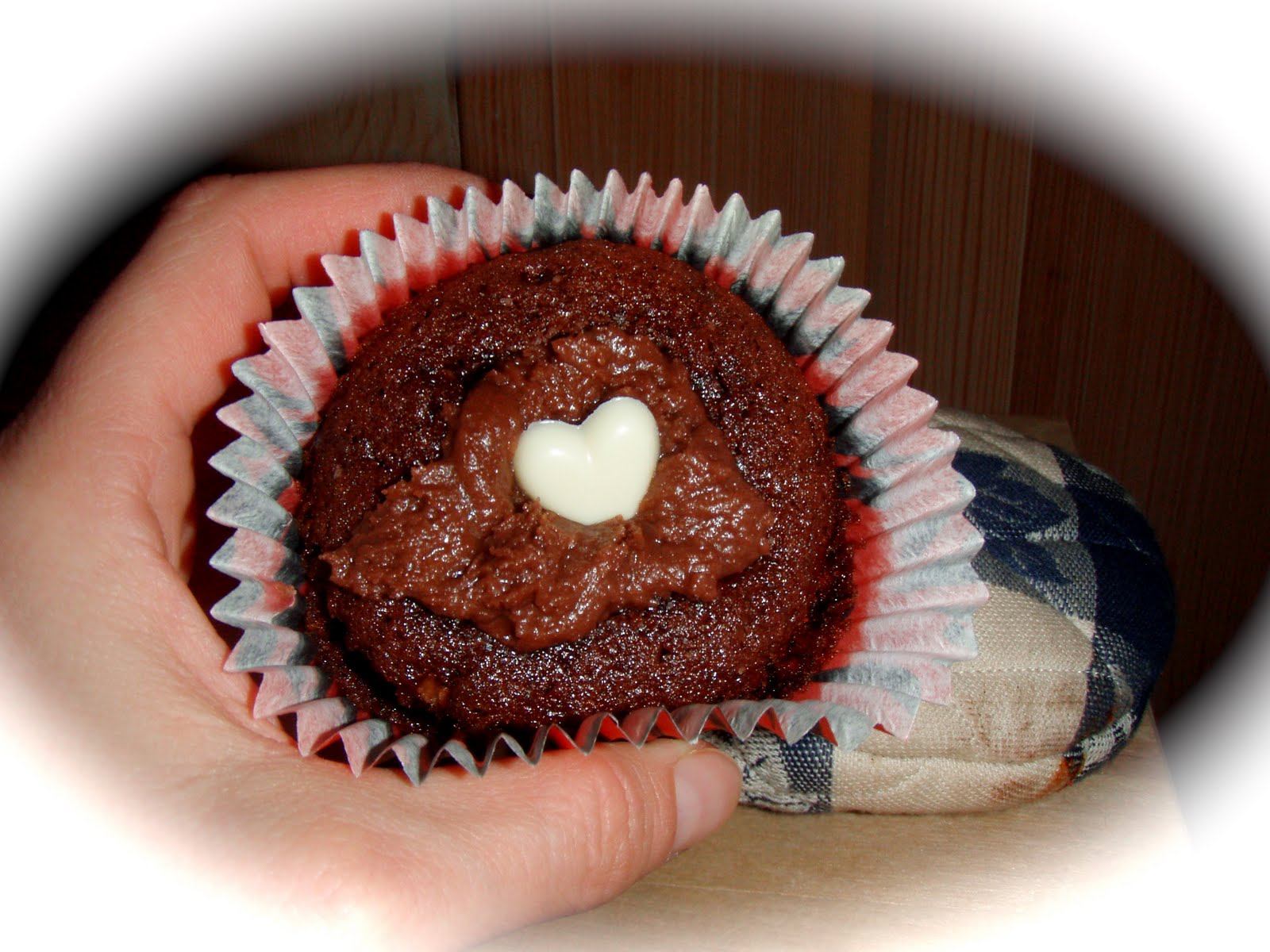 chokladmuffins med smörkräm
