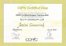 Copic Certificaat!!!