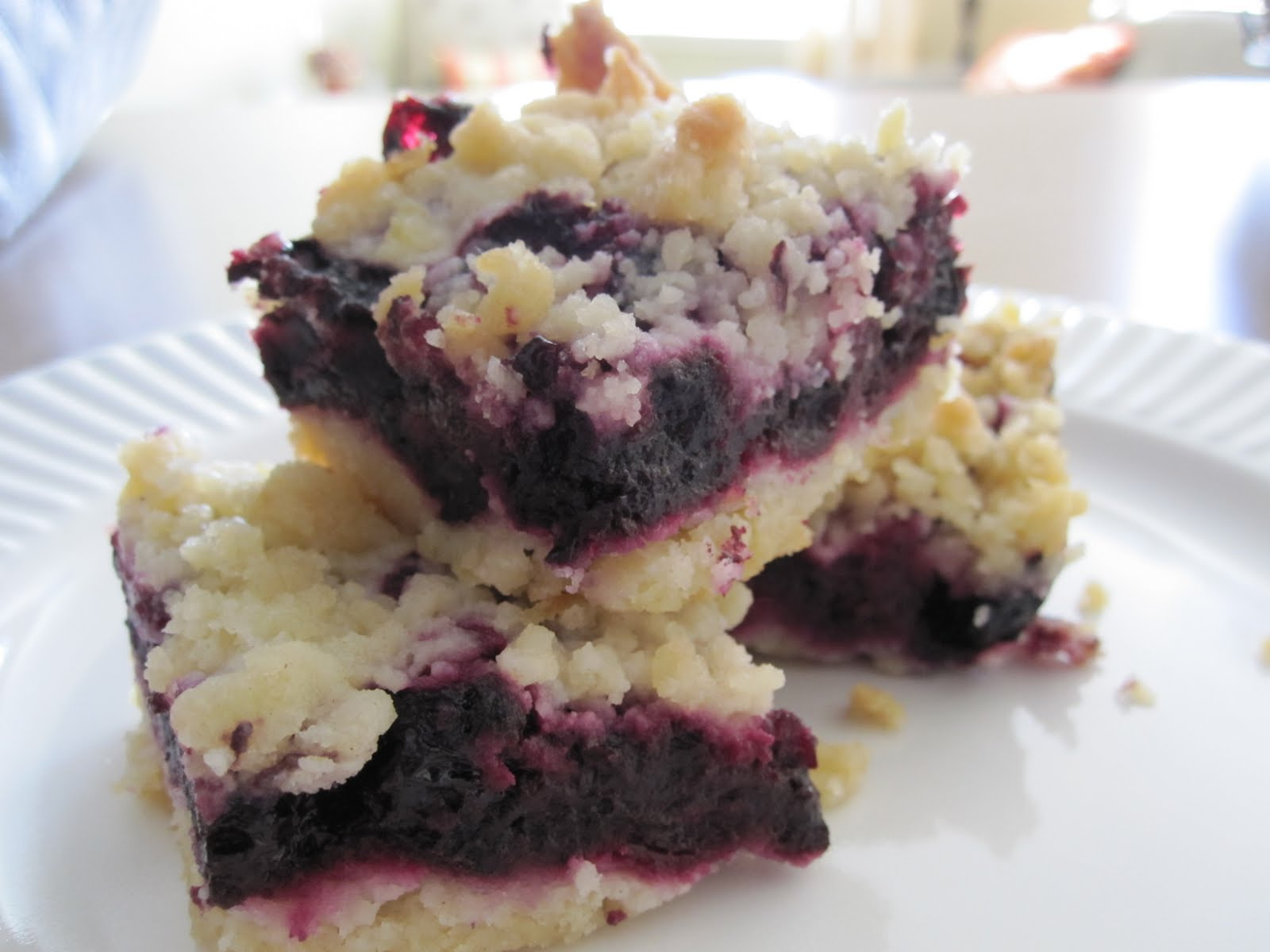 taylor made...: ...Blueberry Crumb Bars
