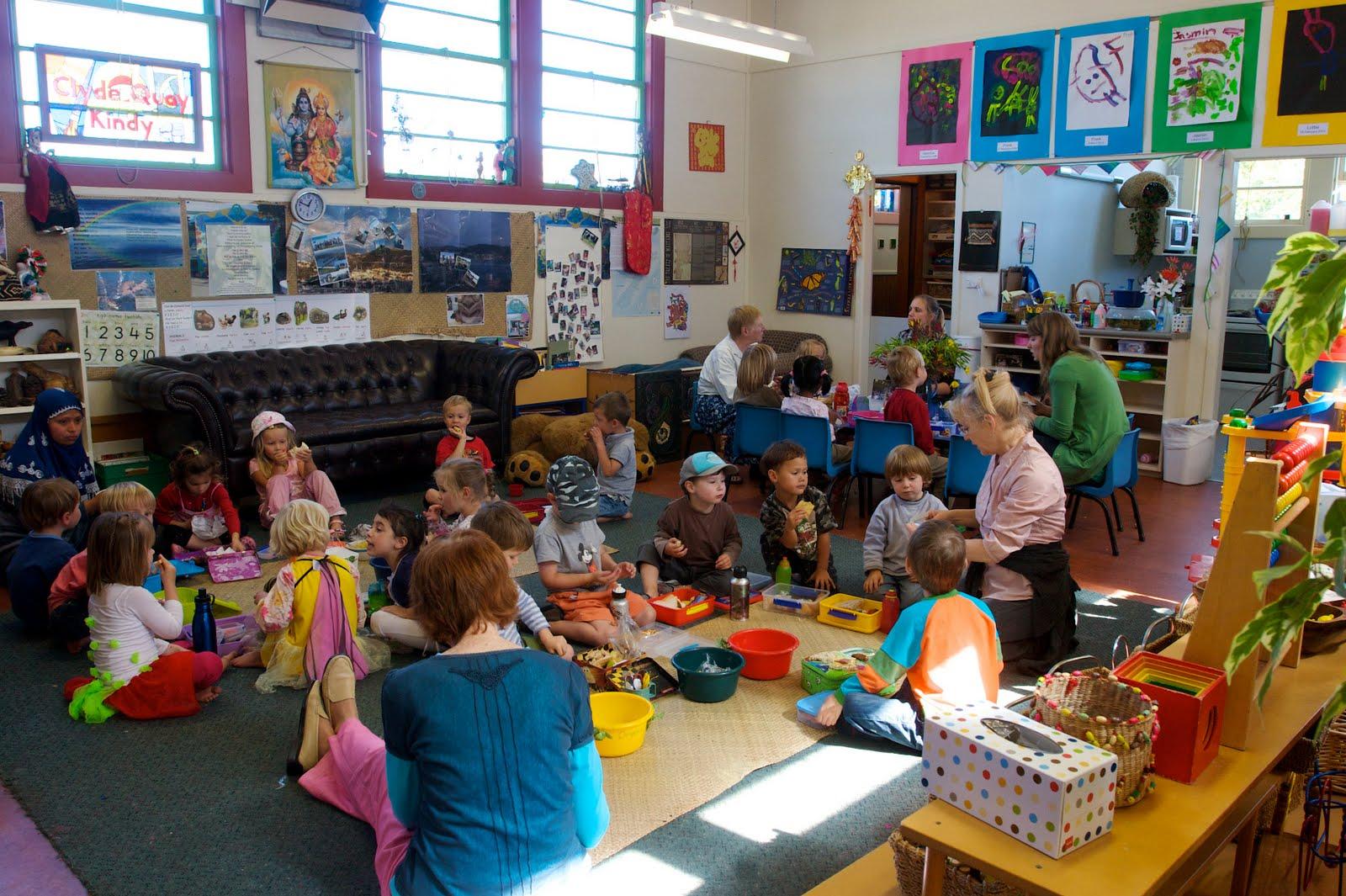 Новая Зеландия обо всем понемногу Детские садики в Новой Зеландии lunch time