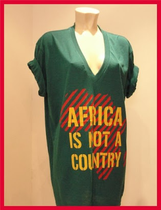 Africa Is Not A Country T-Shirt