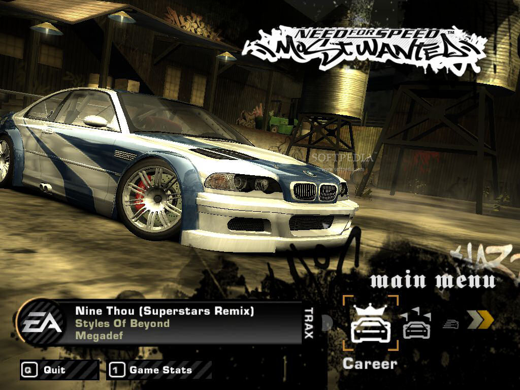 Need for speed most wanted black editon portable completo for Juego nfs most wanted
