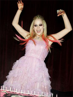 Avril pink ugly