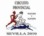 Logo Circuito Provincial Duatlón y Triatlón. Sevilla 2011