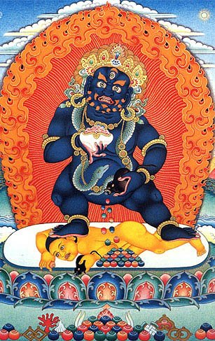 Buddhist BLACK JAMBHALA