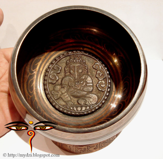 GANESHA SINGING BOWL