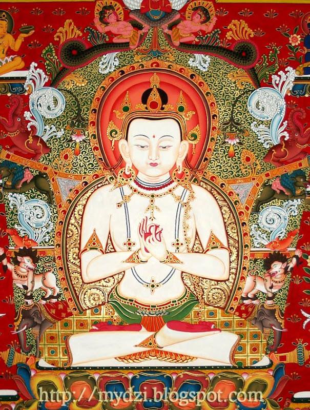 Dhyani Buddha Vairochana