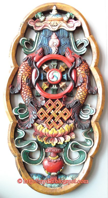Nepalese And Tibetan Arts Blog 8 Symbols In Wood Carving