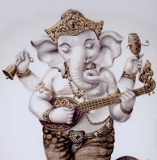 Ganesha Musical Momment
