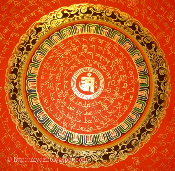 Mantra Mandala Orange