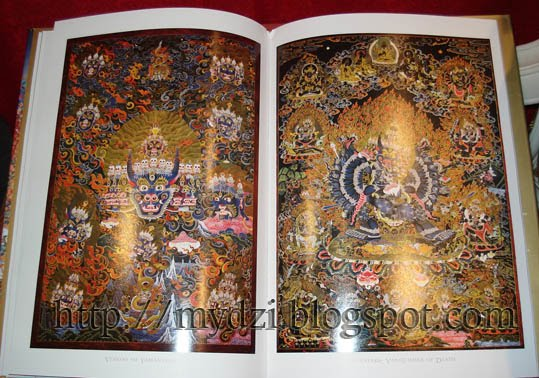 Buddhist Yamantaka Thanka