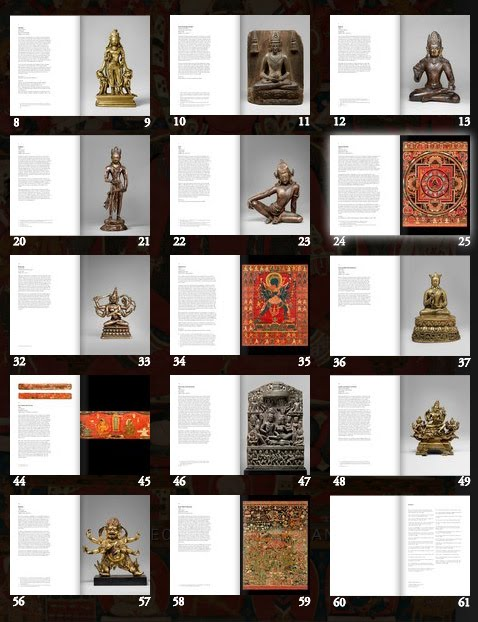 Online Catalogue contents