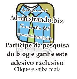 Brinde Grátis Adesivo site Administrando.biz