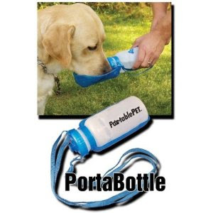 Brinde Grátis Garrafinha de água para cães