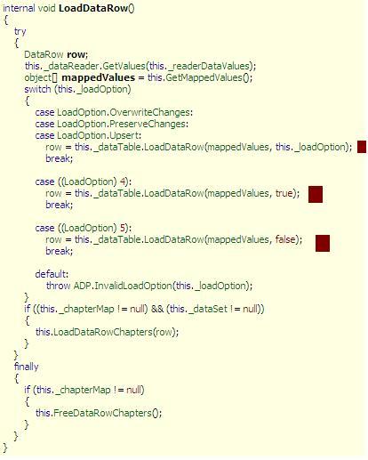 DOT NET TRICKS: ADO NET - Some Internals Uncovered