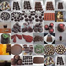 CHOCOLATE, TRUFAS Y BOMBONES