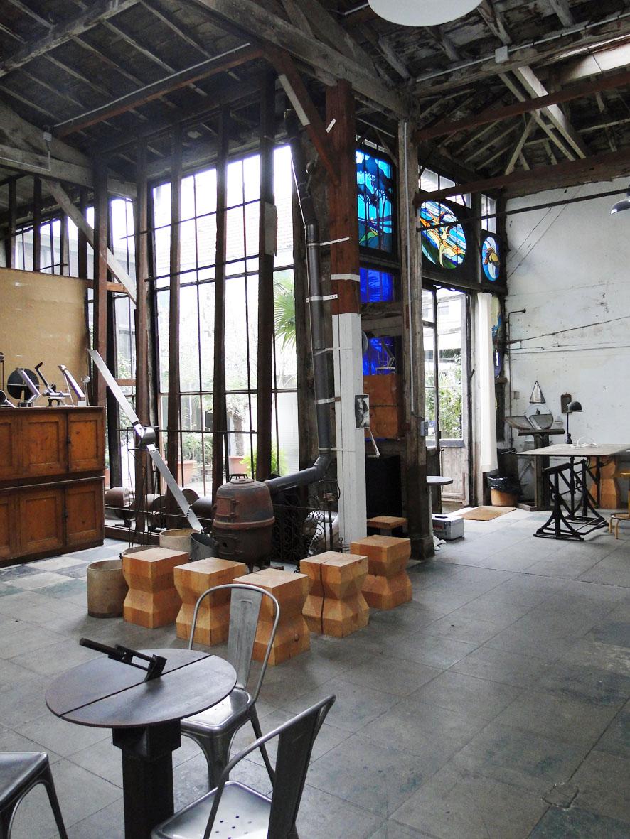 Loft connexion by samuel johde atelier d 39 artiste paris 6e rue du che - Location atelier d artiste paris ...