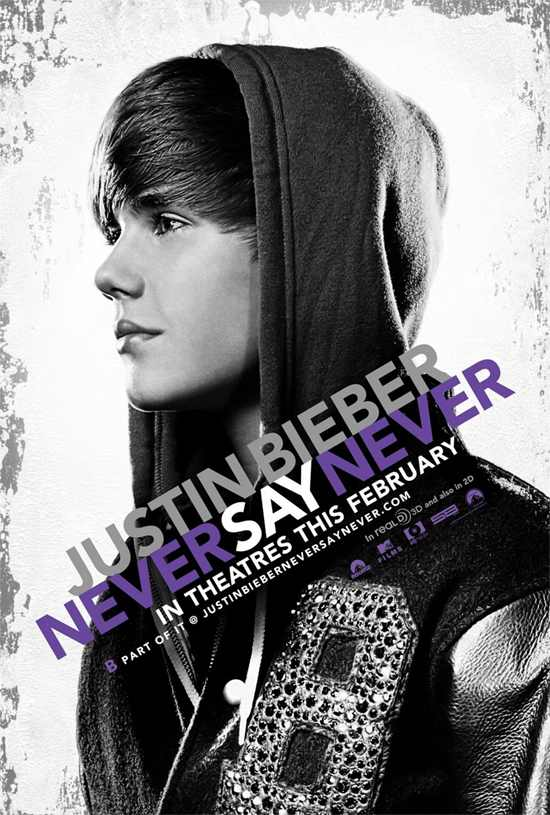 justin bieber movie poster. New Justin Bieber Movie Poster