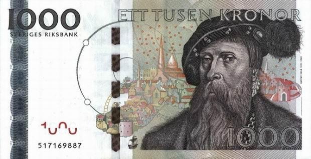 Isveç para birimi isveç kronu sveriges kronor