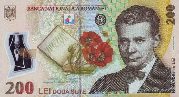 Romanya para birimi lei leu