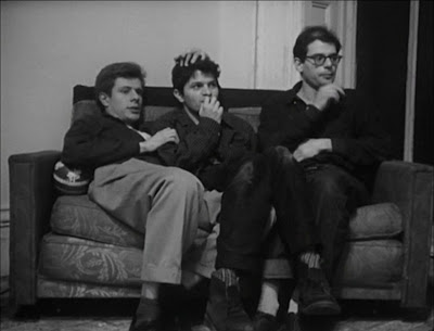Peter Orlovsky, Gregory Corso, and Alan Ginsberg