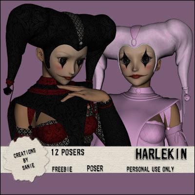 http://creationbysanie.blogspot.com/2009/07/harlekin.html