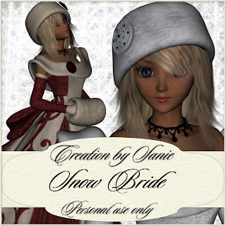 http://creationbysanie.blogspot.com/2009/12/snow-bride.html