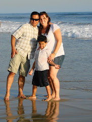 Huntington Beach with our family