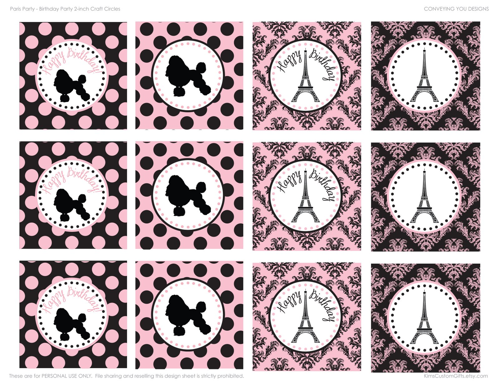 Life's a Beach...with the Tanimoto's: Pink and Black Paris ...