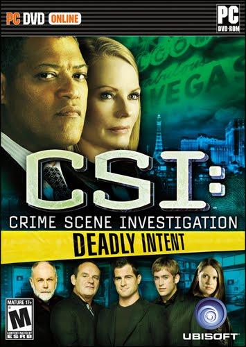 CSI Deadly Intent   PC