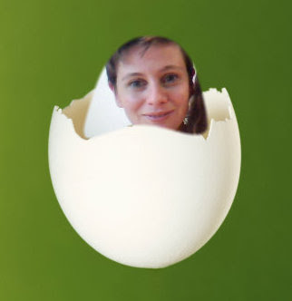 In the egg still