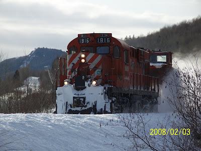 NBEC Plow Train