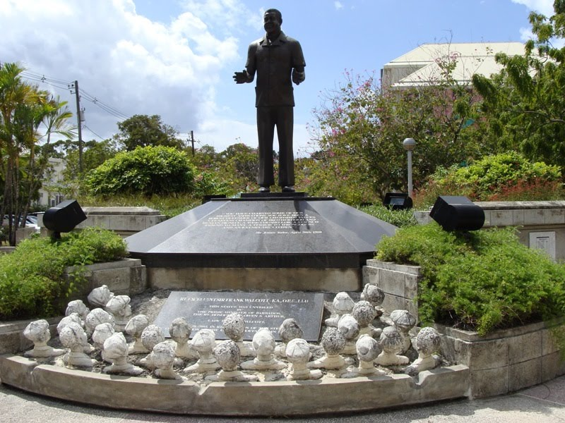 Poetry Nest: Barbadian National Heroes with Statues