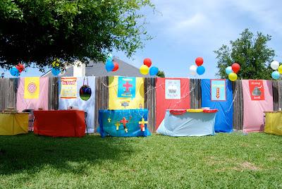 Superieur Backyard Carnival
