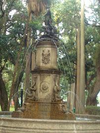 Chafariz no Jardim do Museu do Catete