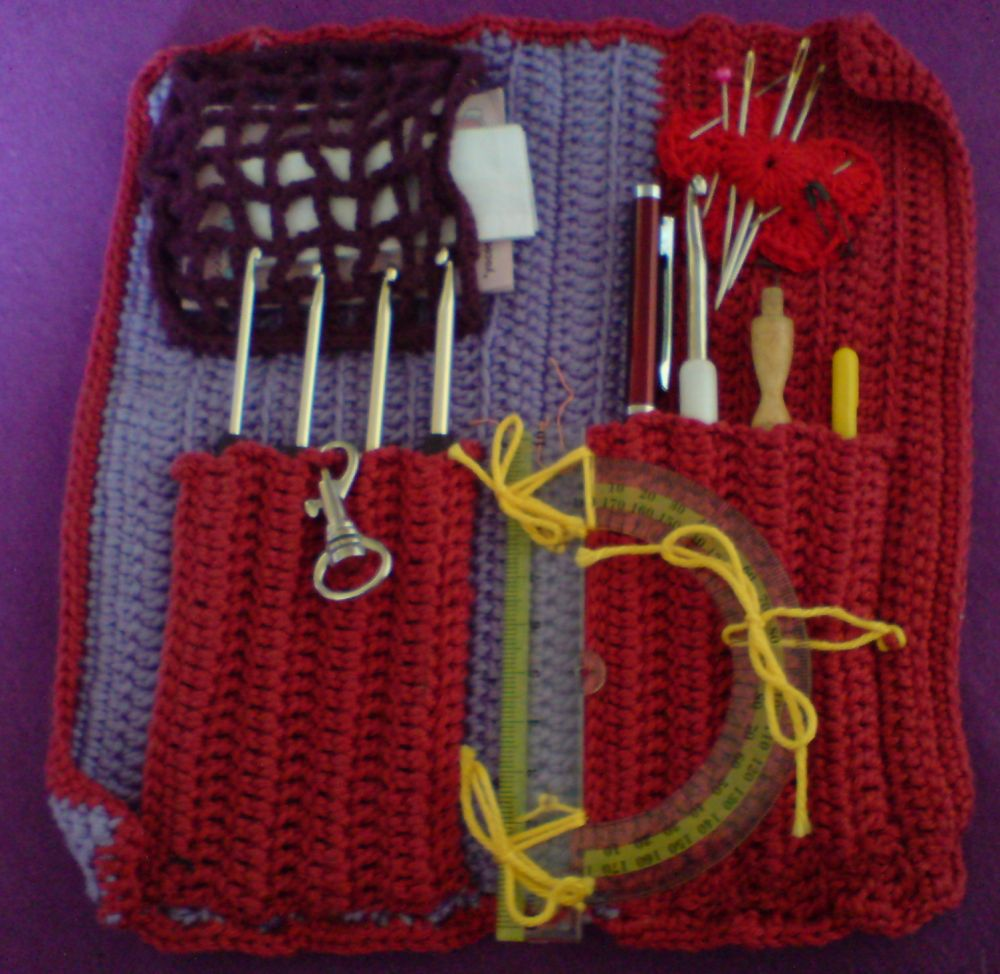 Free Crochet Star Hook Case Pattern : Crochet Hook Case Pattern Free Patterns For Crochet