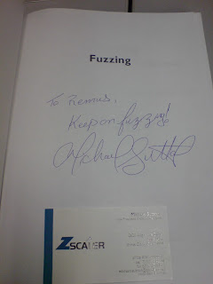 Autograph from Michael Sutton