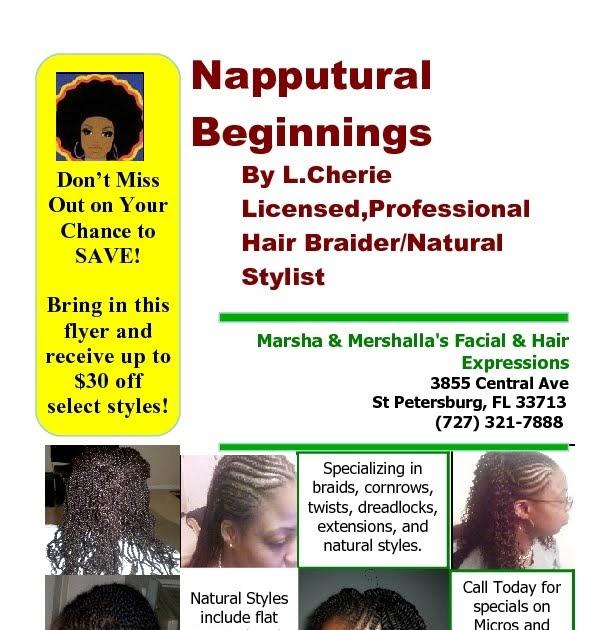 Natural Hair Care In St Petersburg Fl
