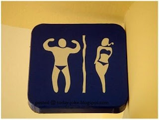 A collection of few funny Signs for Toilets