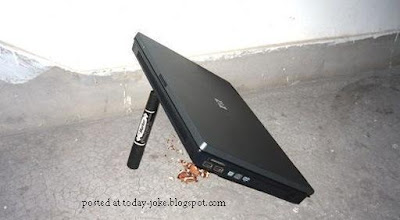 Uses of Laptops @ today's joke