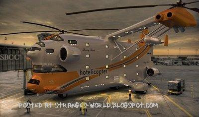 amazing helicopter @ stranges world