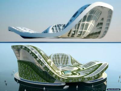 DUBAI Lilypad Floating City @ strange world