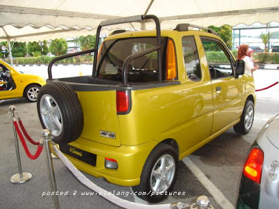 Modified Perodua @ hot pic