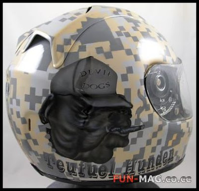 Creative Helmet Art