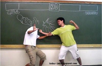 High School Fighter @ today's joke