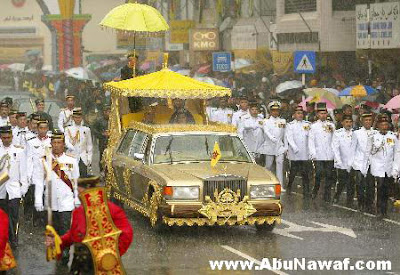 the cars of the Sultan of Brunei @ suto world show