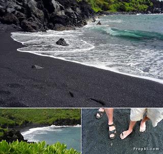5 Pantai dengan Warna Pasir yang Berbeda