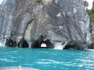 The Marble Caves of Rio Tranquilo