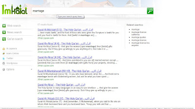 Even the option in doing a keyword search for contents in the Quran is