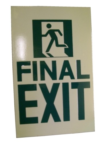 Final Exit (sign)